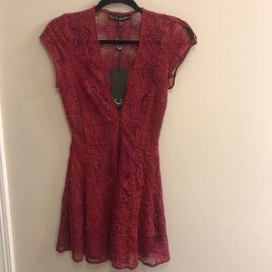 For Love and Lemons Lace Mini Dress NWT